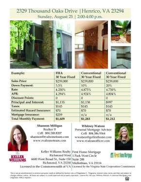Open House This Sunday in Henrico-Less Than $95 a SquareFoot!