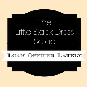 LBD Salad and My Meal Plan for the Week