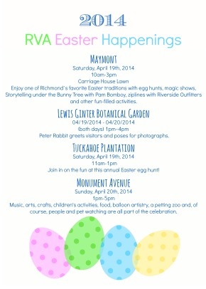 RVA Easter Happenings