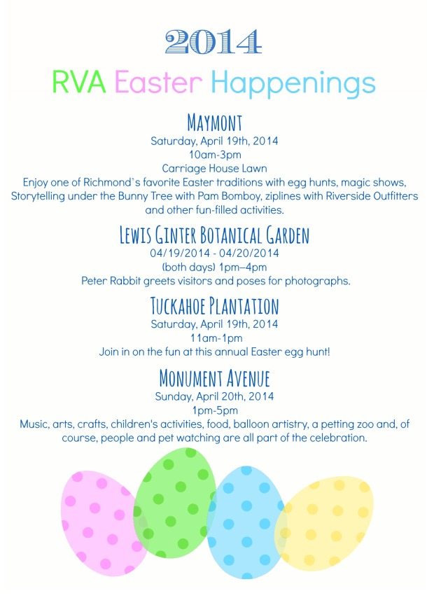 2014 Easter Events