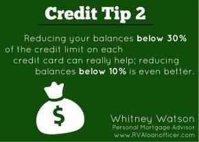 Credit Tip Series – Tip Number2
