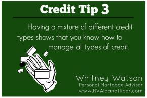Credit Tip Series – Tip Number3