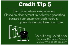 Credit Tip Series – Tip Number5