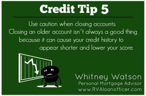 Credit Tip 5
