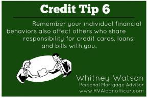 Credit Tip Series – Tip Number6
