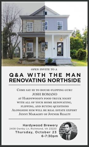 Q & A With Josh Romano | The Man Renovating Northside