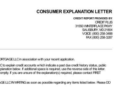 Reader Questions  The Consumer Explanation Letter